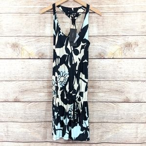 NWT Analili floral drop waist dress